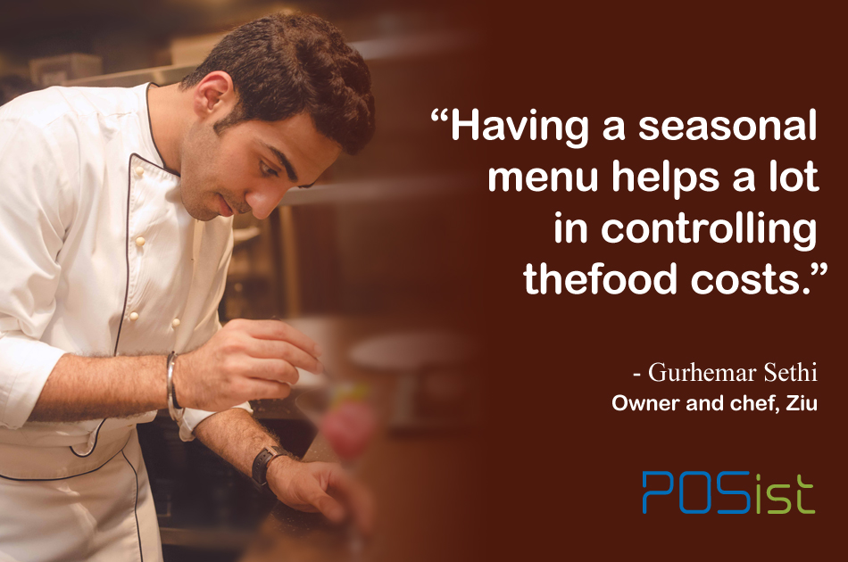 7 Pro Tips to Manage Restaurant Food Cost by Chef Gurhemar sethi
