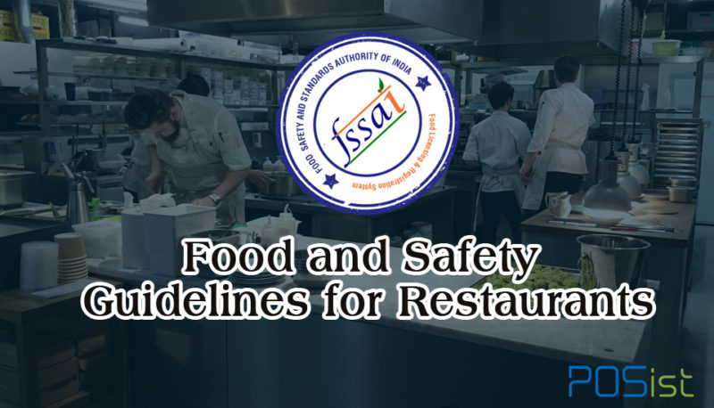 FSSAI Food Licensing & Registration System Guidelines For Restaurants
