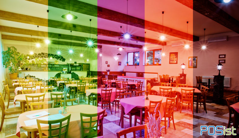 Did You Know that Restaurant Interior Colors Can Affect Your Restaurant's Sales?