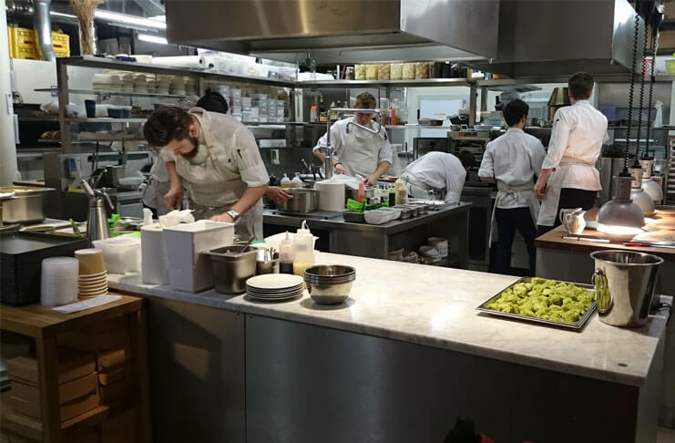 Restaurant kitchen Commercial Quora Restaurant Staff Training To Improve Efficiency Step Guide