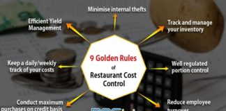 9 Golden Rules of Restaurant Cost Control