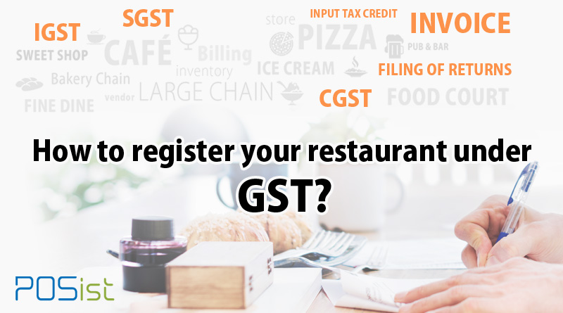 All About GST Registration for Restaurants