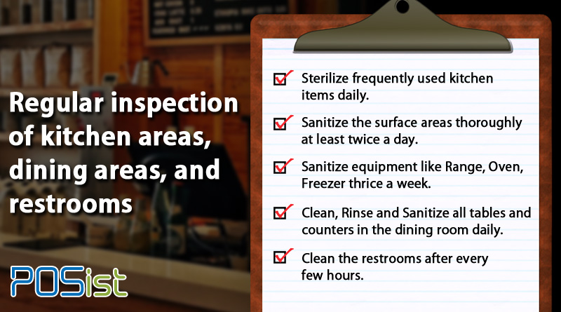 restaurant kitchen cleaning checklist mainly comprises of the tasks related to cleaning and sanitation