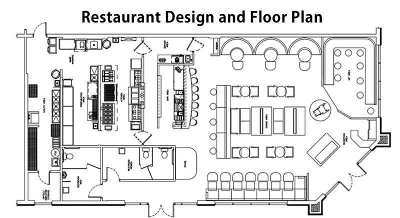 Components To Be Included In Restaurant Design And Floor Plan