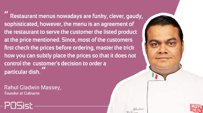 restaurant menu engineering tips