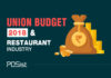 Impact Of The Union Budget 2018 On The Restaurant Industry
