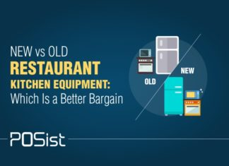 Most of the restaurant owners are entangled with the eternal confusion on whether one should purchase an old or a new restaurant kitchen equipment.