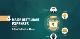 Tips to control the 4 major restaurant expenses that are bleeding the restaurants dry!