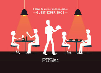 5 ways you can provide impeccable restaurant guest experience to your customers.