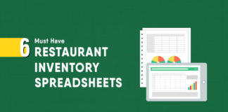 6 must have restaurant inventory spreadsheets that will help you to have a tight control in your restaurant stock and inventory.