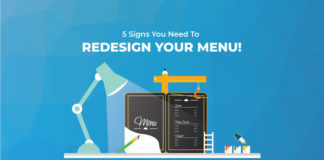 5 Signs That You Need to Redesign Your Restaurant Menu NOW!