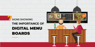 Top 7 reasons why all restaurants must make that quick shift to digital restaurant menu from static menu boards.