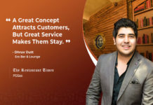 Dhruv Dutt Of Era Bar & Lounge Reveals The Ultimate Secret Of Customer Retention
