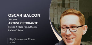 'Exceptional Customer Service Is The Key To Success,' Oscar Balcon, Artusi Ristorante