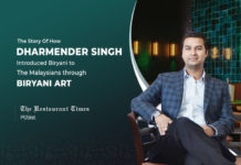 Creating A Sense Of Anticipation And Community Are The Two Major Ingredients Behind The Success Of Biryani Art- Dharmender Singh, MD, Biryani Art