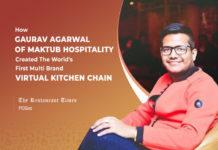 Gaurav Kumar Agarwal of Maktub Hospitality