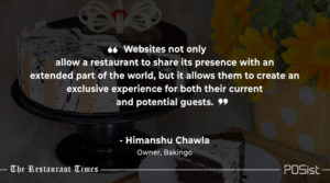 Himanshu Chawla of Bakingo talks about the importance of website making for branding