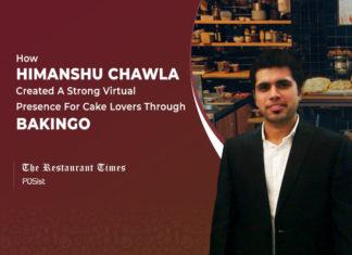 Himanshu Chawla of Bakingo