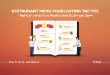 Restaurant menu forecasting