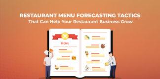 Restaurant menu forecasting