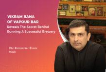 Vikram Rana of Vapour Bar