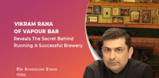 Vikram Rana of Vapour Bar