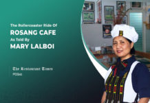 Mary Lalboi of Rosang cafe