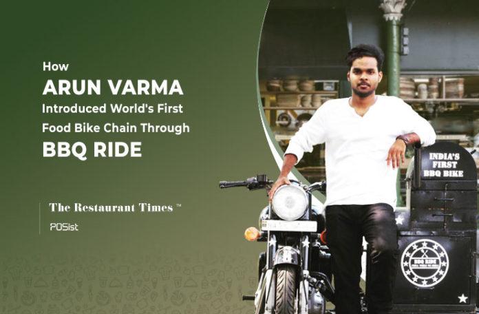 Arun Varma of BBQ Ride