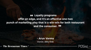 Arun Varma of BBQ Ride talks about the importance of marketing.