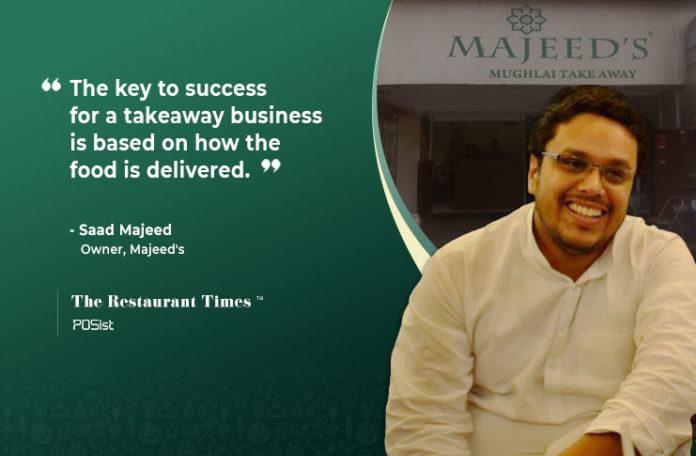 Saad Majeed of Majeed's