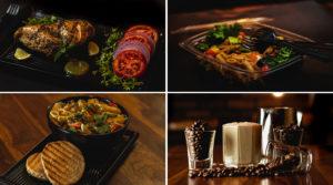 Beautifully presented food at Malai Cafe.