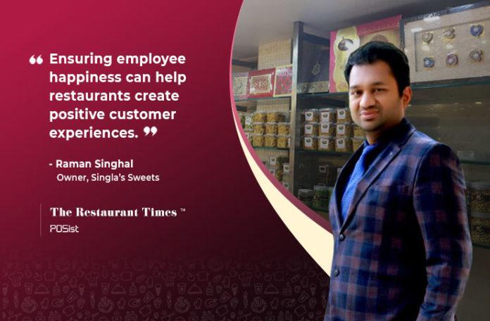 Raman Singhal Of Singlas Sweets