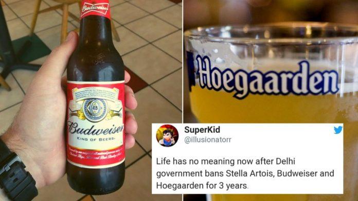 Beer ban reactions of restaurants in Delhi