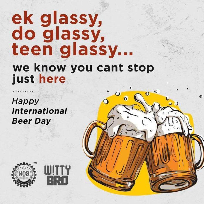 Ministry Of Beer campaign for international beer day