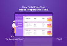 Optimizing your restaurant order preparation time