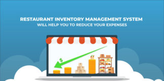 Restaurant inventory management system for reducing labor cost