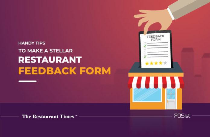 Creating a restaurant feedback form