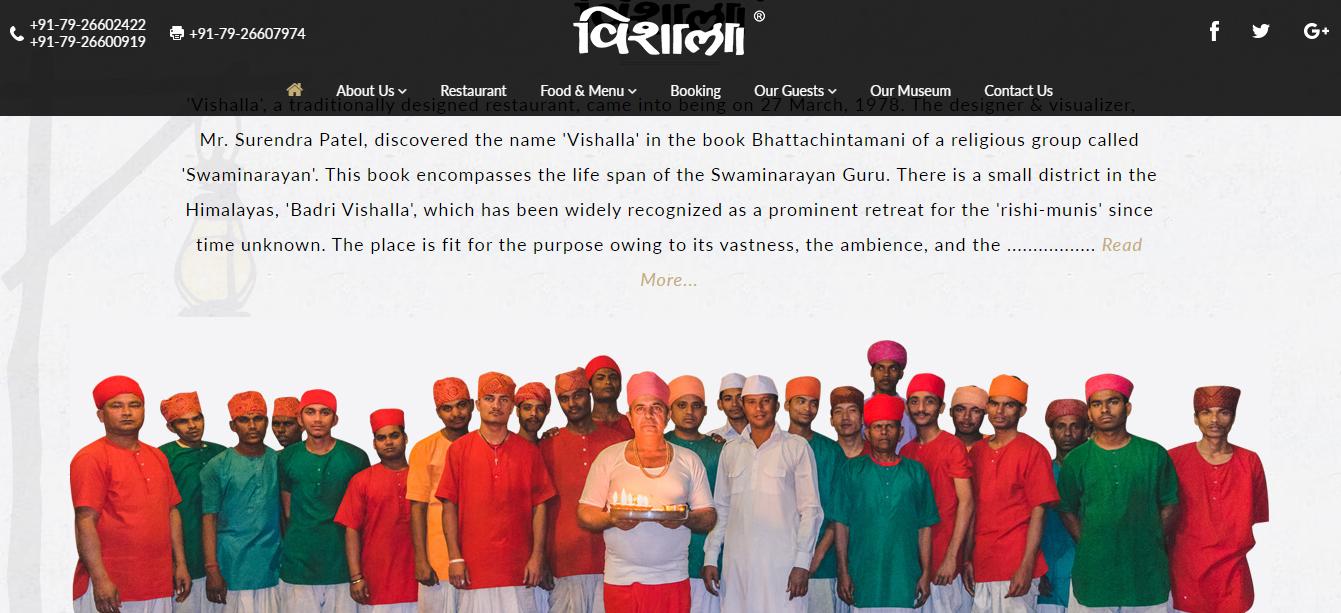 Restaurant online presence in Ahmedabad