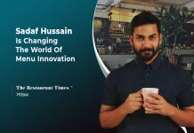 sadaf Hussain talks about menu innovation