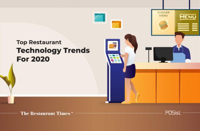 restaurant technology trends 2020