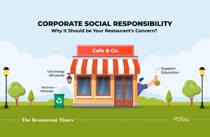 CSR- restaurant business