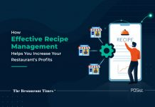 Recipe management to increase restaurant profits