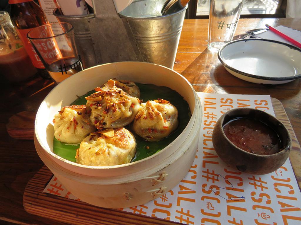 Social Hauz Khas cutlery restaurant