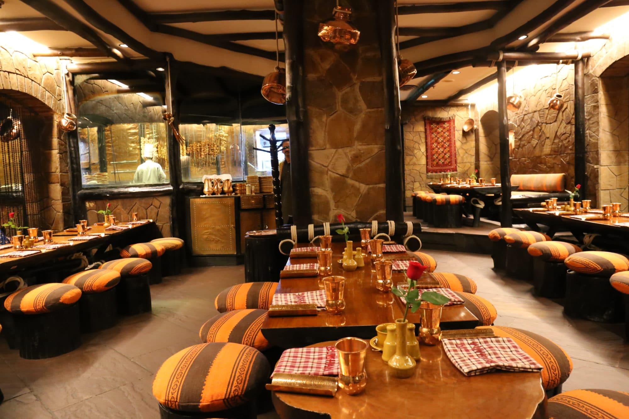 iconic restaurant ITC Bukhara