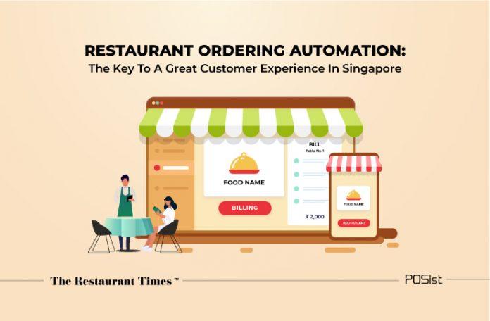 Restaurant Ordering system Singapore