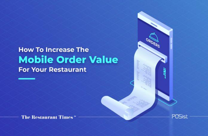 mobile order value