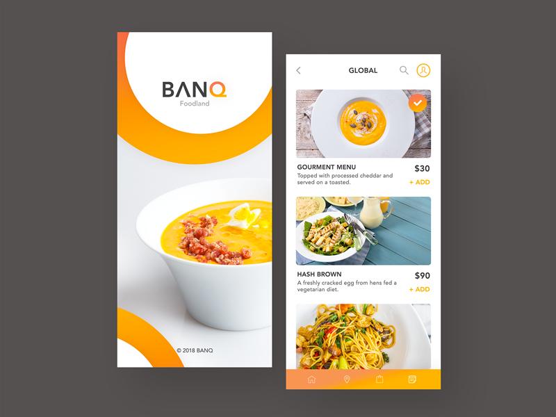 Online menu inspiration