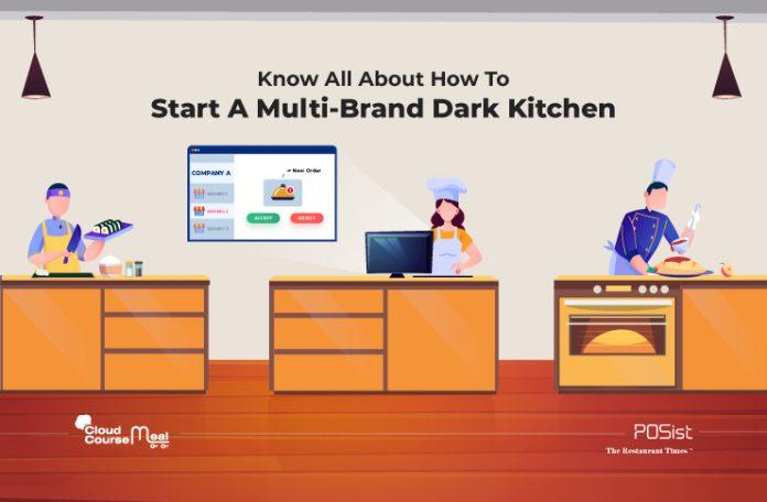 how to start a multi-brand dark kitchen