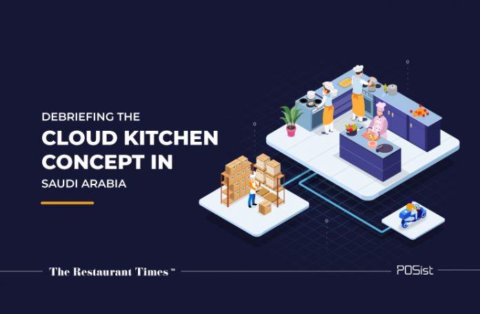 cloud kitchen concept Saudi Arabia
