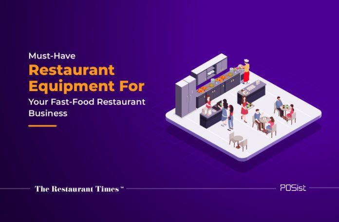 fast food restaurant equipemnt